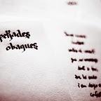 """llibre de poemes """"petjades obagues"""""""