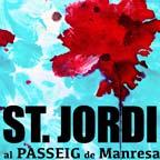 Llibres Artesans al Passeig de Manresa, Sant Jordi 2019