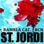 Sant Jordi a Rambla Catalunya
