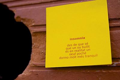 aforisme : insomnia
